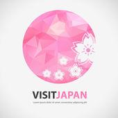 Abstract Japan element — Stok Vektör