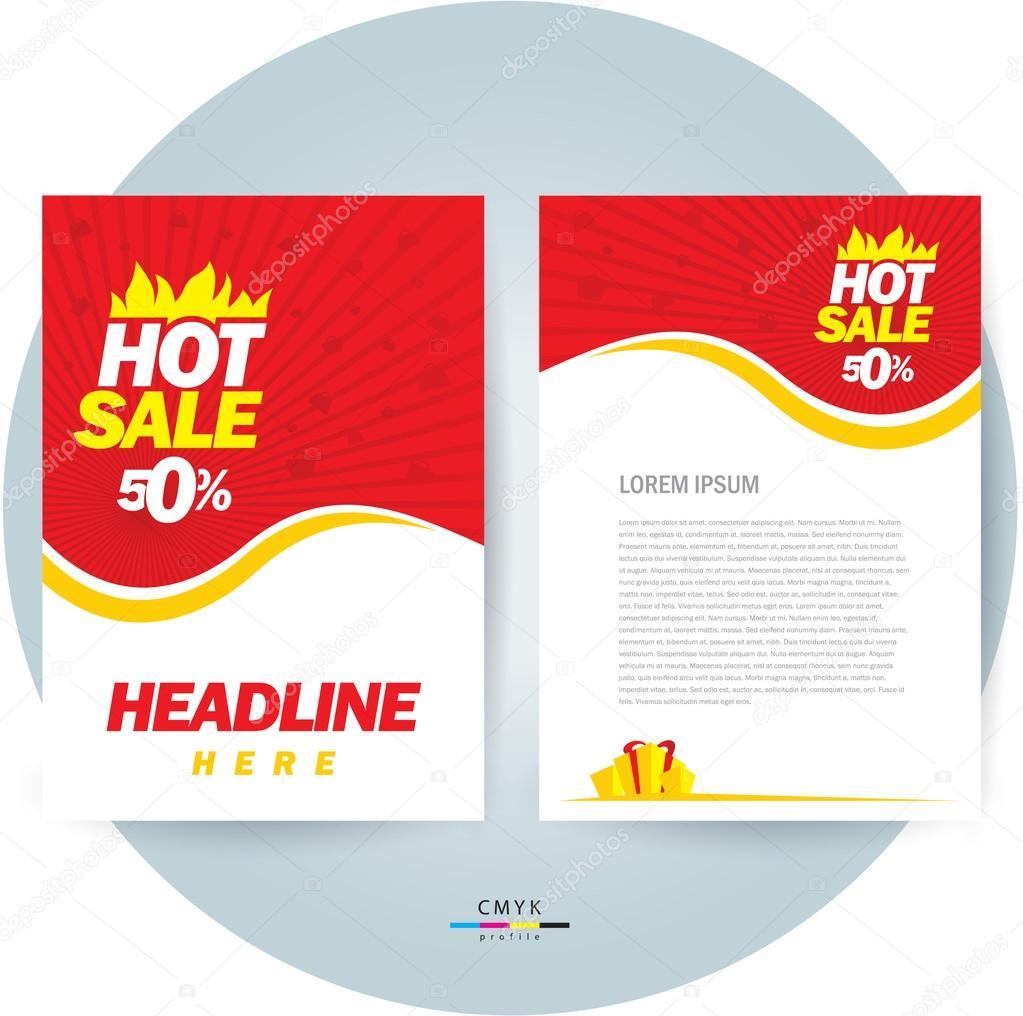 photo s flyer template images brochure design template vector flyer hot stock vector depositphotos 106563272 stock illustration brochure design