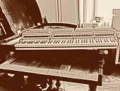 Piano restoration — Stock Photo