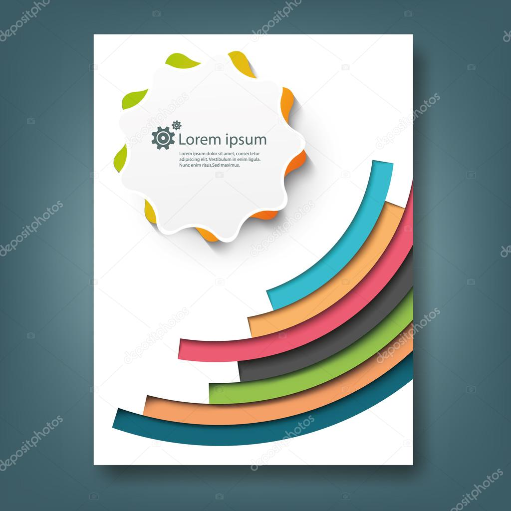 report template design stock vector copy mokara  report template design stock vector 64586687