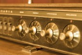 Old amplifier — Stock Photo