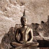 Grunge Buddha — Stock Photo