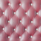 Leather upholstery of a  sofa — Stock Photo