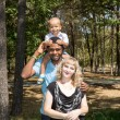 African American happy family — Stock fotografie #54546527