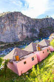 Hotel on Titikaka in Peru — Stock Photo