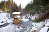 Ski resort Forest Tale near town of Almaty, Kazakhstan — Stock Photo