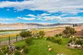 Hotel near Titikaka — Stock fotografie