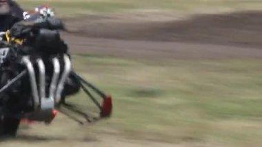 Cascades de motocyclette — Vidéo