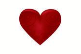Güzel kalp — Stok Vektör