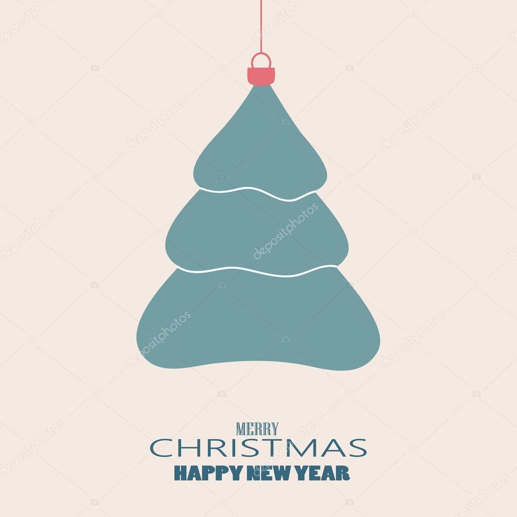 Plantilla Arbol De Navidad. Foto De Archivo Rbol De Navidad Con El ...