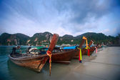 Thailand boats — Stock Photo