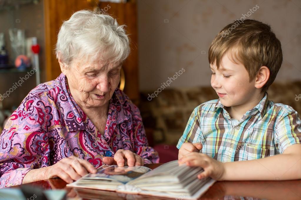 Смотреть бабушка с внуком фото 181-107