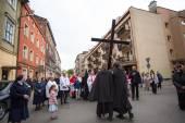 Way of the Cross — Stock Photo