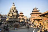 View of Patan Durbar Square — Stock Photo