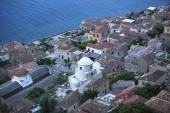 Fortified town of Monemvasia in Greece — Stock fotografie