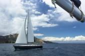 Sailing in the Aegean Sea. — Stock Photo
