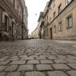Paving in old city (movement camera) HD — Stock Video #56235147