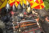 Mittelalterliche waffen. — Stockfoto
