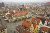 Wroclaw old town square — Stock Photo