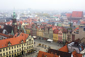 Wroclaw in cloudy weather. — Stock Photo