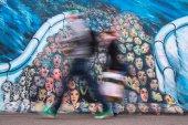 Graffiti on Berlin Wall — Stock Photo