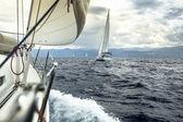 Yacht race — Stock Photo