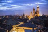 Old town of Krakow — Stock Photo