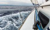 Yachts à voile — Photo