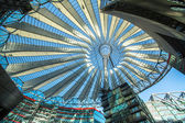 Sony Center on Potsdamer Platz — Stock Photo