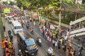 タイのフットボールのファンを祝う — ストック写真