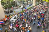 Thai football fans celebrate — Photo