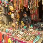 Постер, плакат: Unidentified Nepalese sellers souvenirs