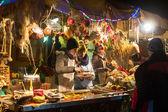 Holiday trading on Main Market Square — Stock Photo