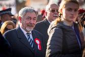 Jacek Majchrowski Mayor of Krakow — Stock Photo