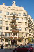 Casa Mila of Gaudi — Stock Photo