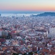View of Barcelona from park Guel — Stok fotoğraf #62512177