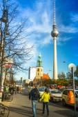 Berliner fernsehturm — Stockfoto
