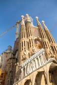 La Sagrada Familia cathedral — Stock Photo