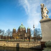 View of the Berlin Cathedral — Stock Photo