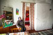 Finno-Ugric people on Leningrad region — Stock Photo
