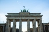View of the Brandenburg Gate — Stock Photo