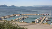 View of the island Pylos. — Stock Photo