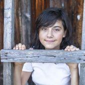 Teen girl portrait — Stockfoto