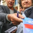 Постер, плакат: Boris Nemtsov leader of russian opposition