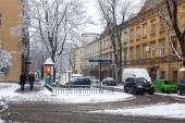 One of the streets of Kazimierz — Foto de Stock