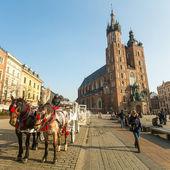Église dans le centre de Cracovie — Photo