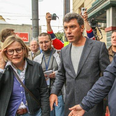 Boris Nemtsov - leader of russian opposition
