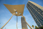 Architecture at Olympic Harbour — Stock Photo