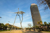 Architecture and art-objects in Barcelona, — Stock Photo