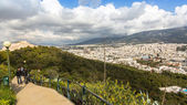 Panorama of Athens from Lycabettus — Stock Photo